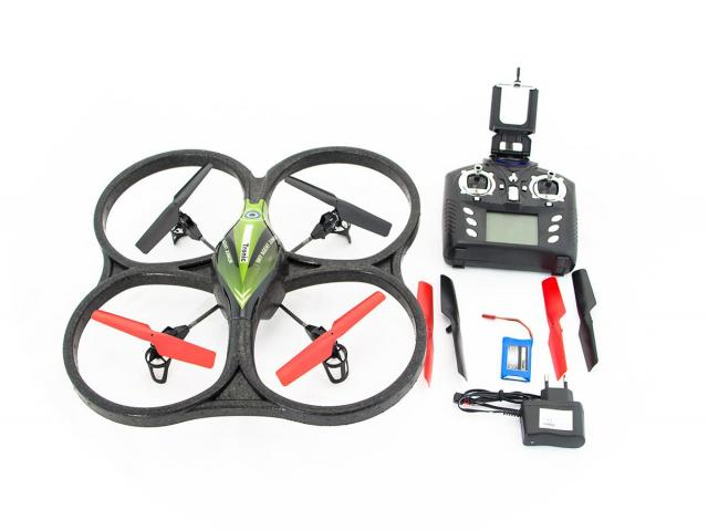 quadricopter с дистанционно