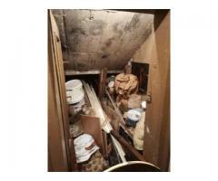 Почистване на мазета, тавани в София и област