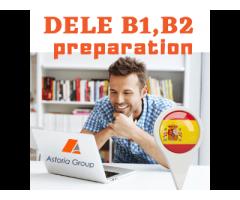 Онлайн Подготовка за сертификатен изпит DELE – B1/B2