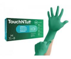 Нитрилни ръкавици,с химическа защита Ansell TouchNTuff® 92-600